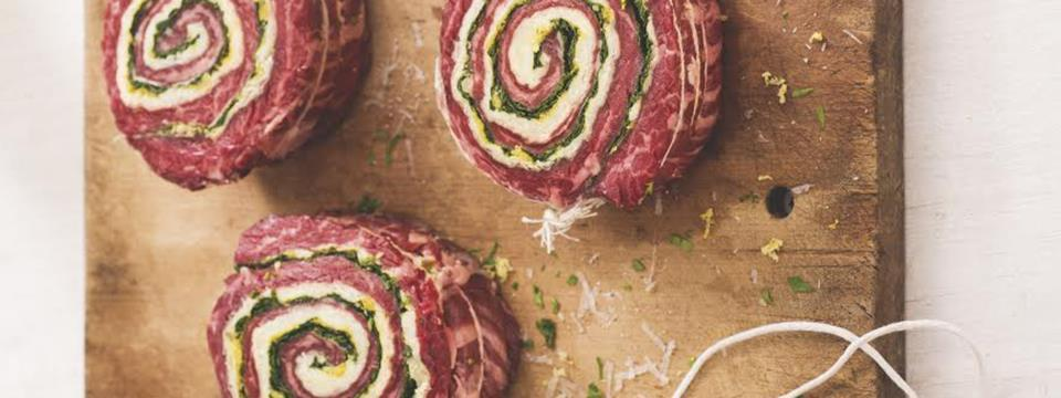 steak, pinwheels, protein, recipe,