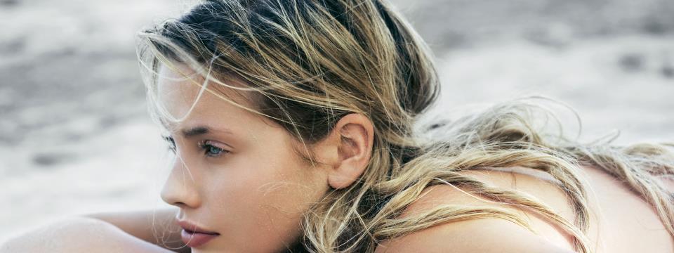 hair, color, style, beach, summer,