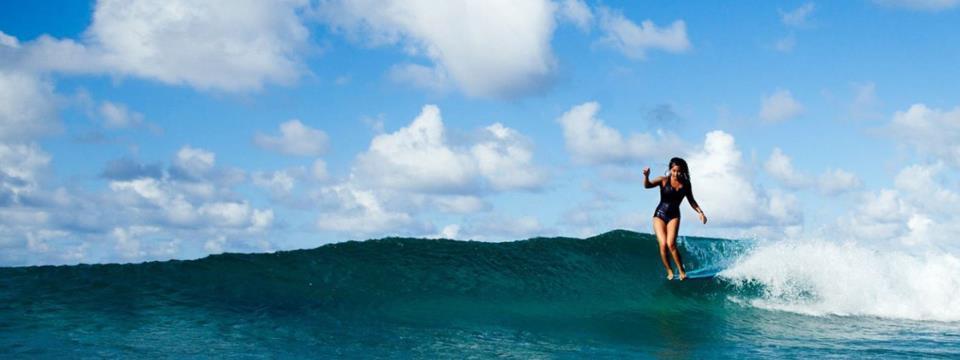 kelia monix, surf, beach, surfer, essentials, gear,