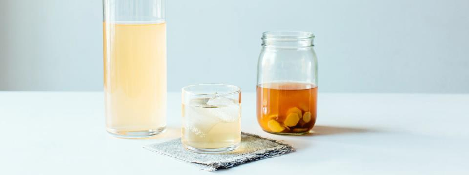 switchel, ginger, maply syrup, cleanse