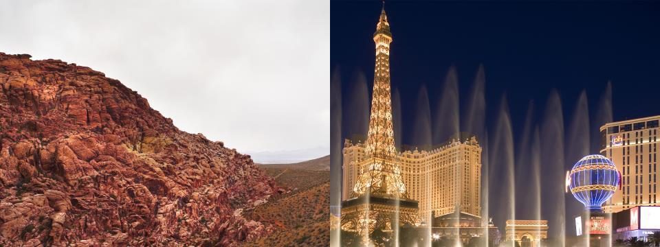 las vegas, travel guide, red rock canyon, 48-hours