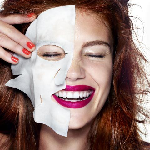 paper masks, beauty tips