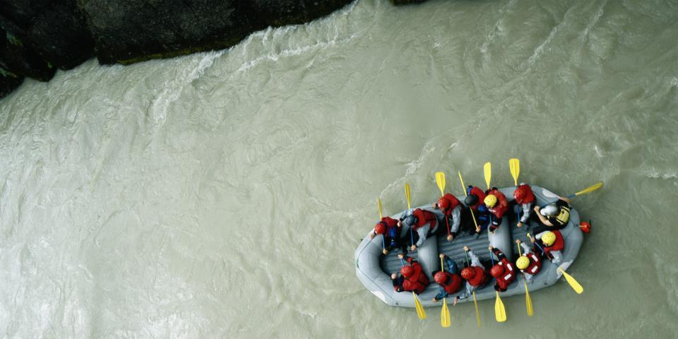 salida colorado, rafting
