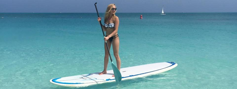 Nastia Liukin, beach essentials