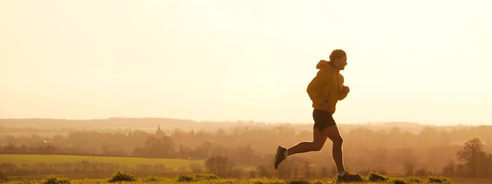running, skin cancer