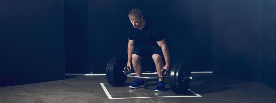 hex bar workout