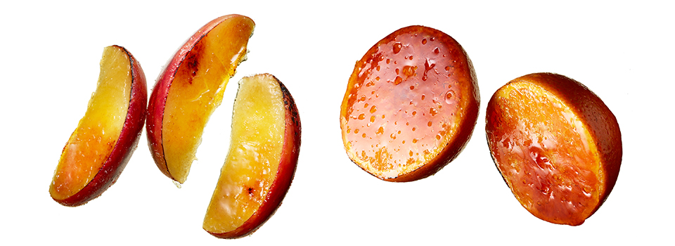 persimmons, fruit, warm