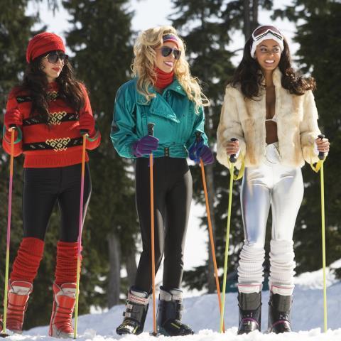 80s ski