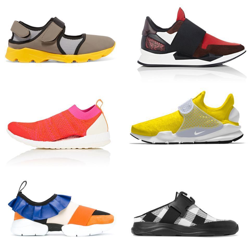 trending sneaker slippers
