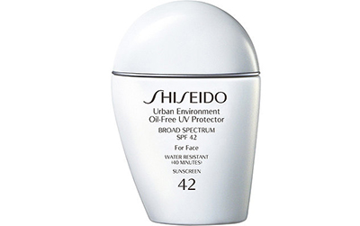 Shiseido, Urban Environment Oil-Free UV Protector Broad Spectrum SPF 42 For Face