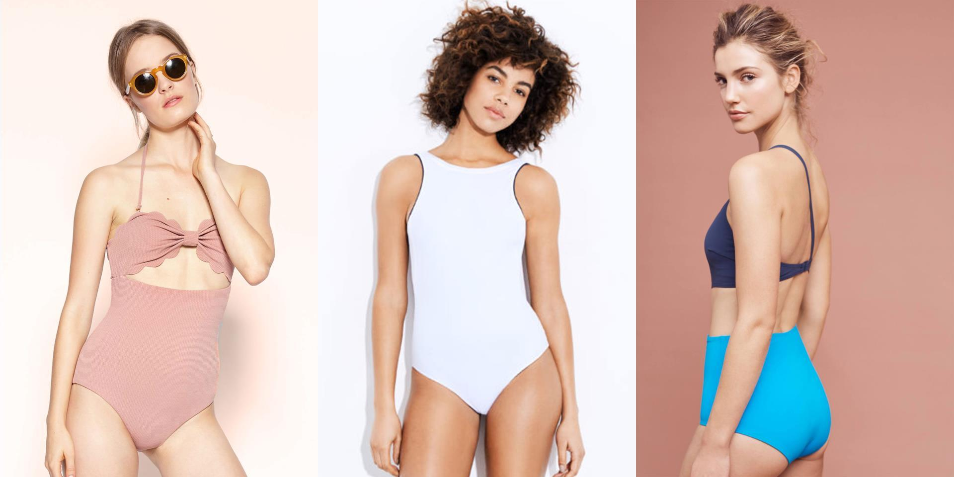 420b962feadf9 The Return Of the One-piece Swimsuit - Furthermore