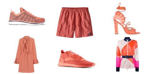 coral clothes