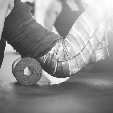 foam rolling, regeneration, 5 spots to foam roll