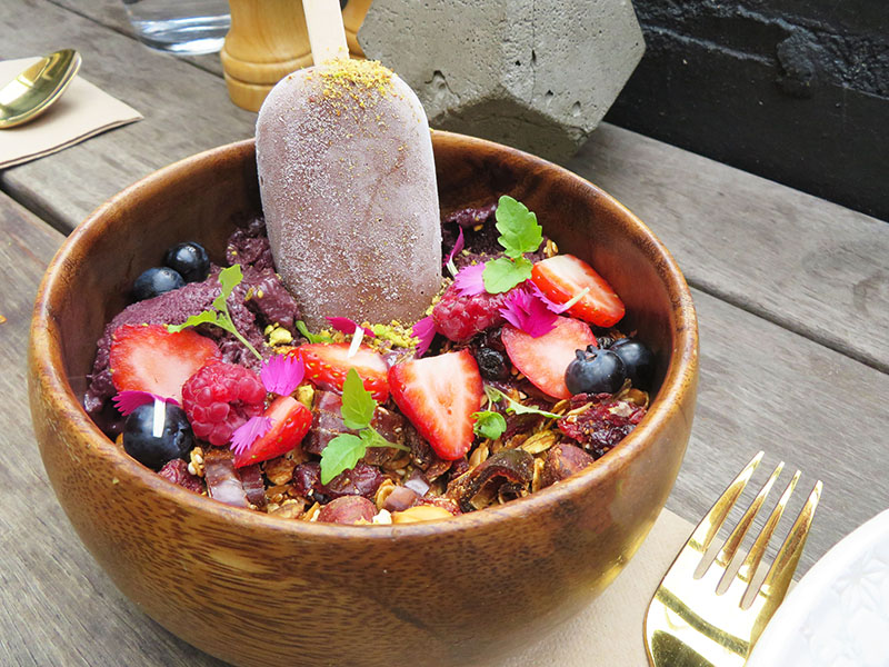 Serotonin, galaxy acai bowl, melbourne