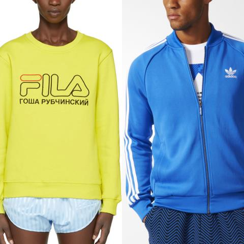 newstalgia, track suits, retro activewear