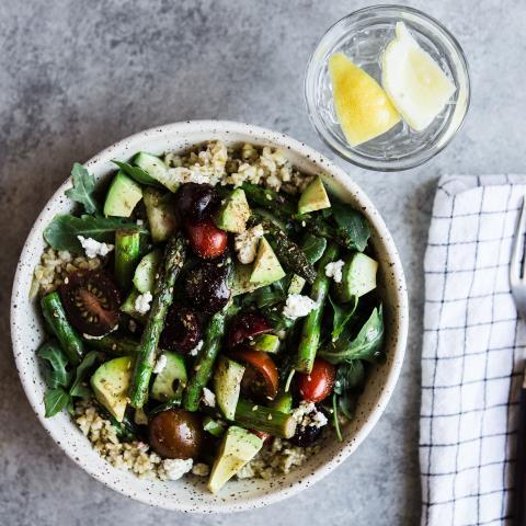 meal prep, grain bowl