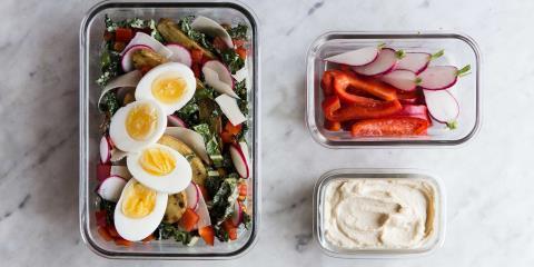 kale, salad, meal prep, modern proper, recipes