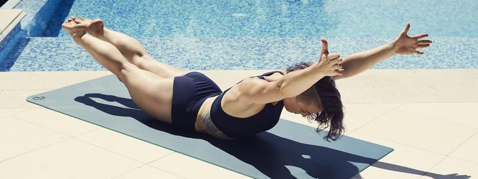 swim, workout,
