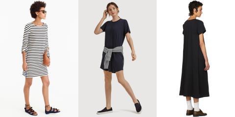 t-shirt dress, style