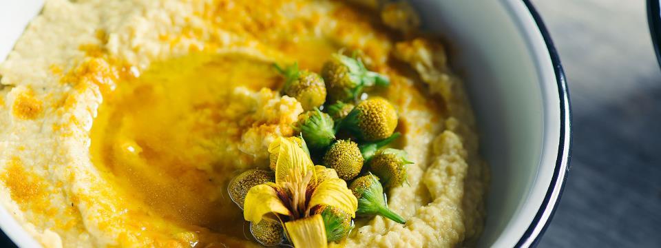 hummus, lemon, turmeric, recipe