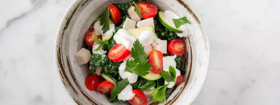chef steps, meal prep, black kale, chicken,