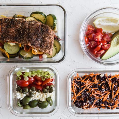 meal prep, modern proper, Blackened, Salmon