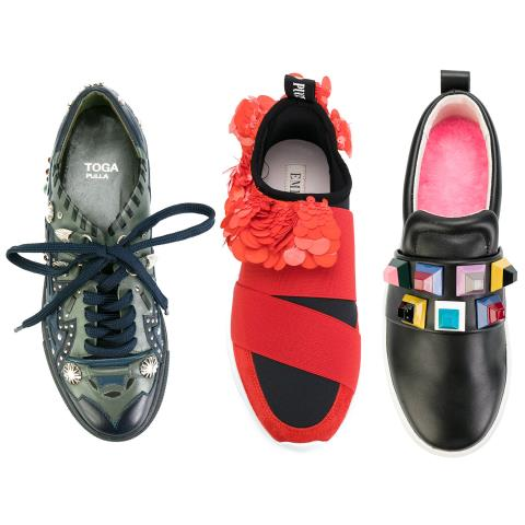 sneakers, fashion, bejeweled, gems, statement, style,