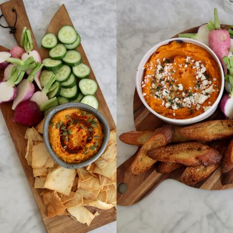 fall, dips, recipes, squash, vegetables, sweet potatoes, hummus,