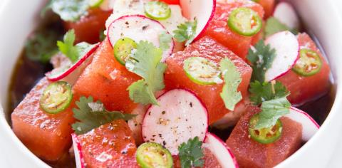 tuna, sweet, spicy, albacore tuna, recipe, cooking, meal prep, salad