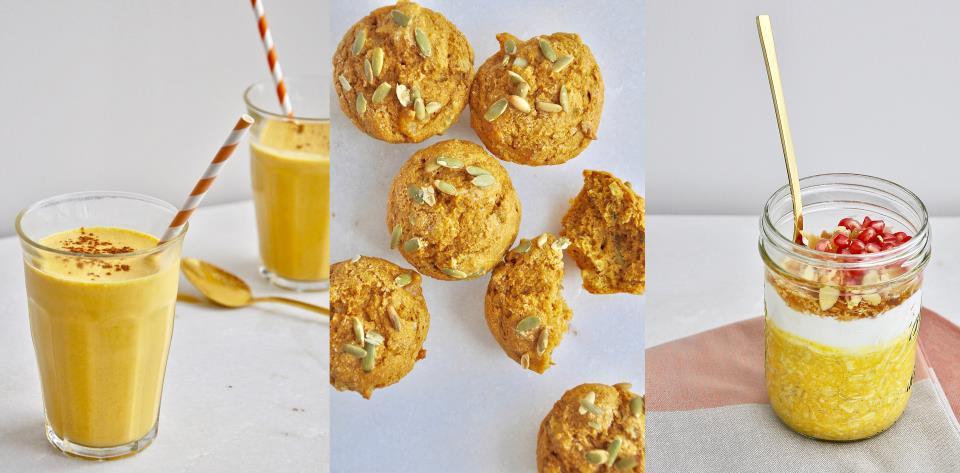 pumpkin, recipe, breakfast, fall, autumn, meal prep