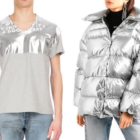 silver, fashion, style, clothes, metallic