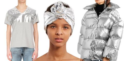 silver, fashion, style, clothes, metallic