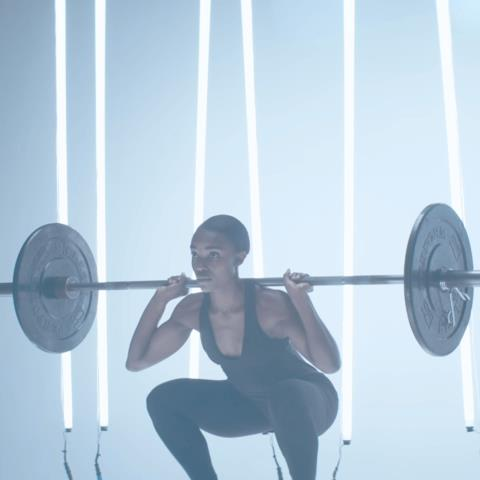 Squatting, science, research, back, position