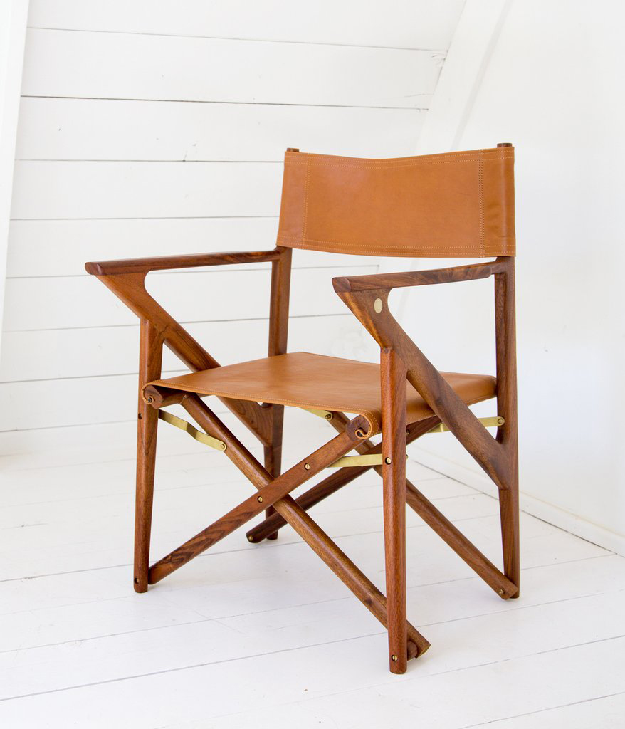 safair, chair, leather, caramel