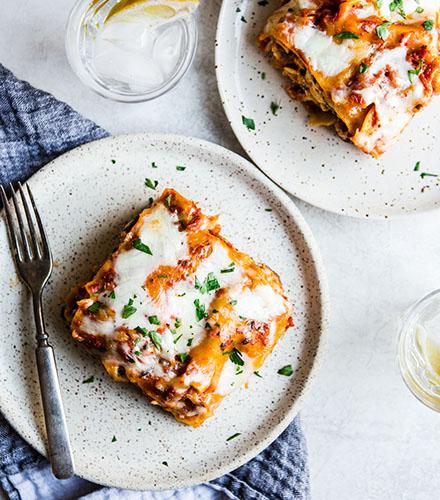 recipe, lasagna, warm, food, winter, dinner, lunch, pasta, italian,