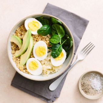 QUINOA-AVOCADO BOWL