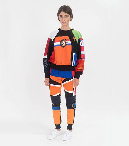 Ksenia Schnaider Reworked Sportswear Pants
