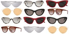 sunglasses, saint laurent, adam salmen, linda farrow, Balenciaga, fendi, mr. leight