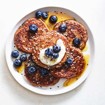 SPICED OAT PANCAKES