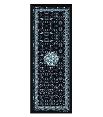 Yogi Peace Club Lotus Blue Yoga Mat Grip +
