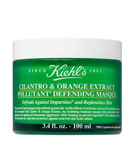 Kiehl's Cilantro and Orange Extract Pollutant Defending Masque