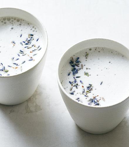 Lavender-Cashew Milk