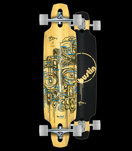 Bustin' Boards Mission Mini 36 Bamboo Hybrid