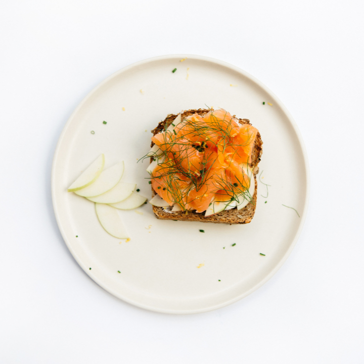 Smoked Salmon Toast with Labneh