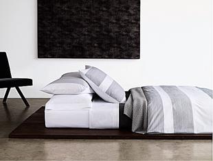 Calvin Klein White Linen Sheets