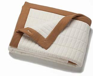 Pratesi Cashmere Quilted Blanket