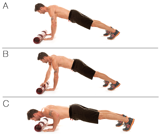 ViPR Slide Push-Up
