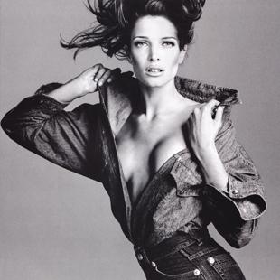 Stephanie Seymour Versace Campaign