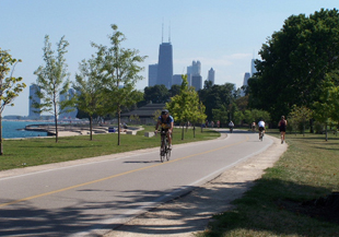 Biking/Walking the Lakefront