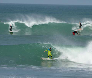 Surfing in Dakhla